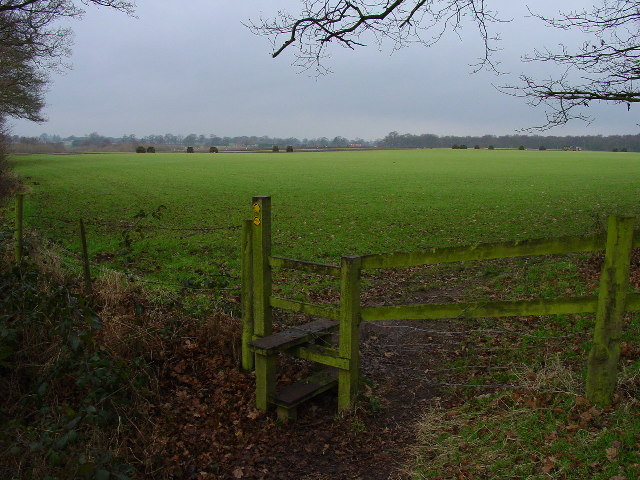 Stile and field