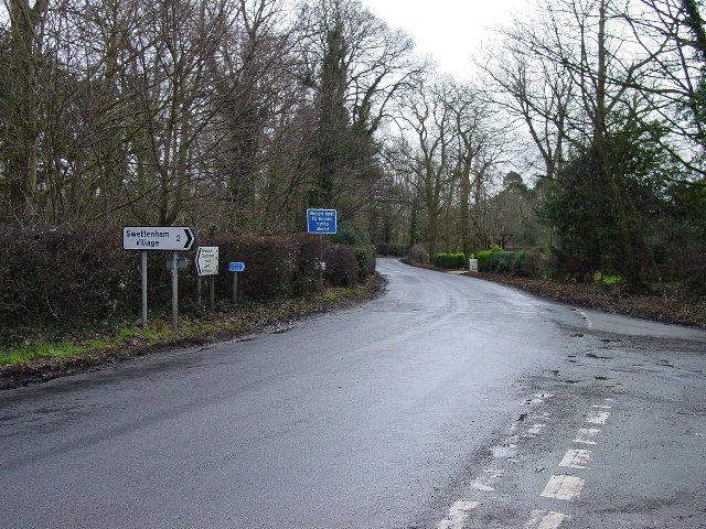 Road Junction Somerford Booths