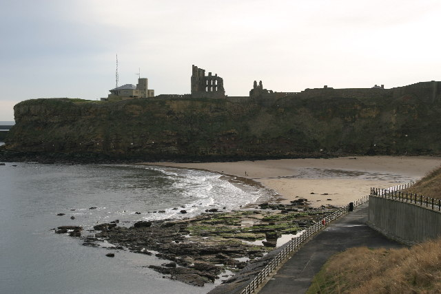 King Edward's Bay Tynemouth from Sharpness Point