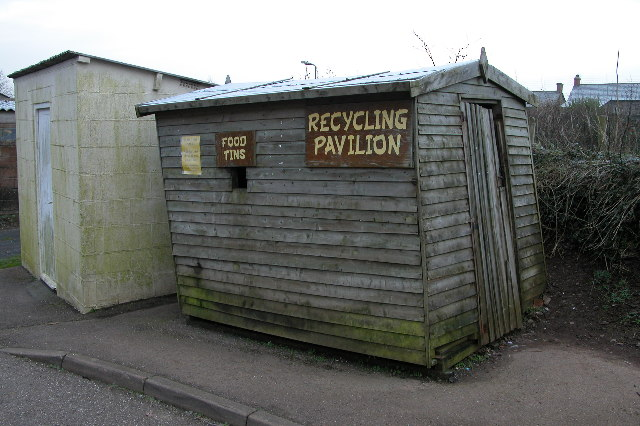 'Recycling Pavilion', Chawleigh