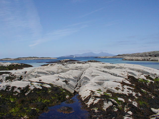Rocks at Sanna Beach