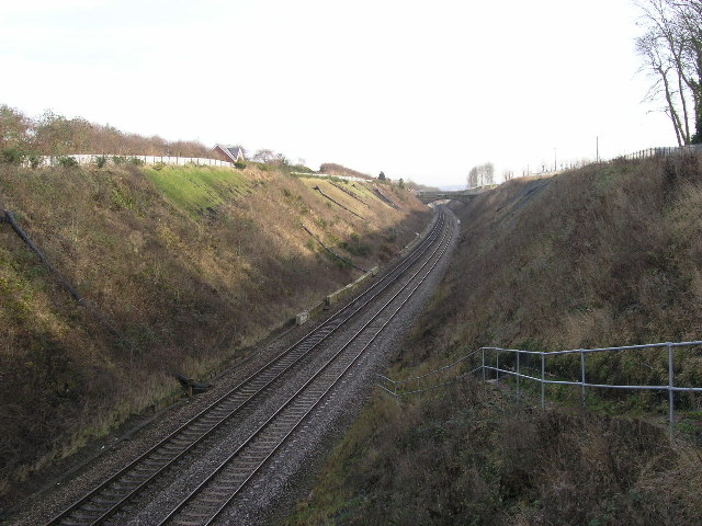 Long Ashton - Railway Cutting