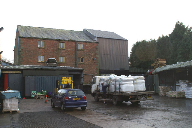 Croston Mill yard