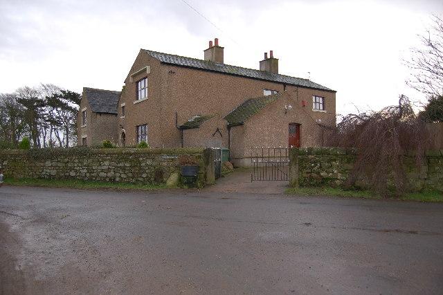 Little Eccleston Hall Farm.  Little Eccleston
