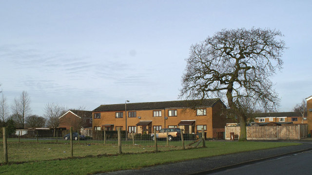Officers' housing for nearby Prisons