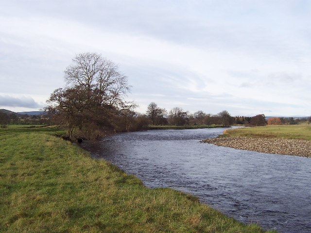 River Ure near Jervaulx Abbey