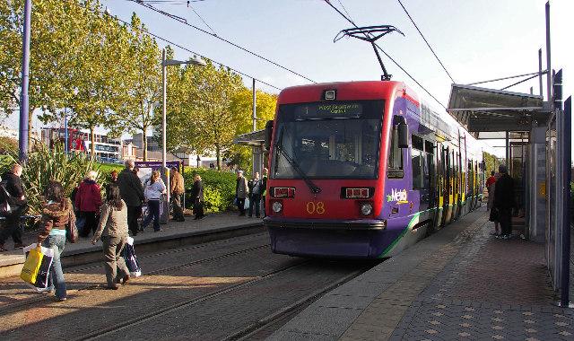 West Bromwich Midland Metro Tram Station
