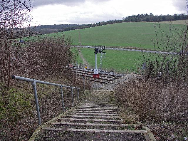 Railway Footpath Crossing, West Wycombe