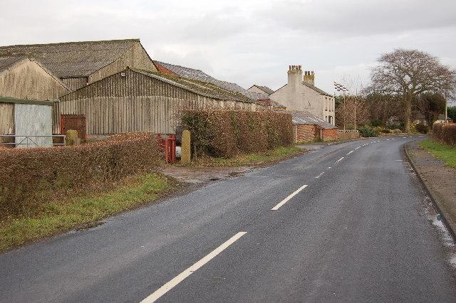 Farm at Cross Moor