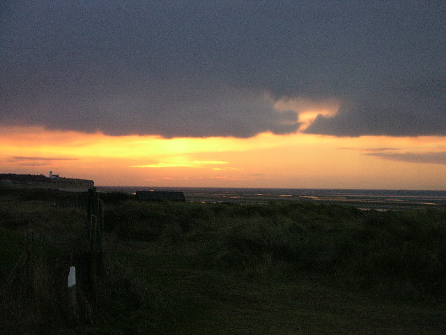 Winter Sunset over Brancaster Bay
