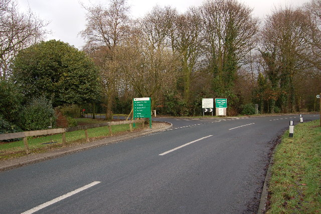 Entrance to Myerscough College