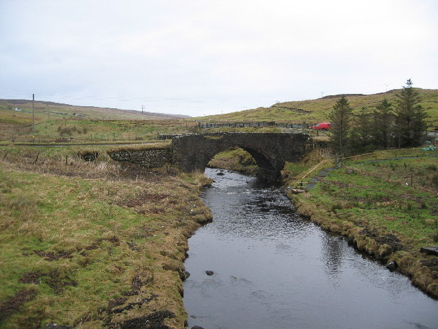 Old Bridge at Caroy