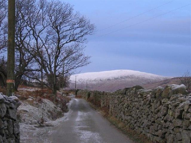 Road to Cwm Eigiau