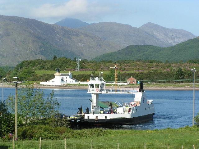 The Corran Ferry at Corran Narrows