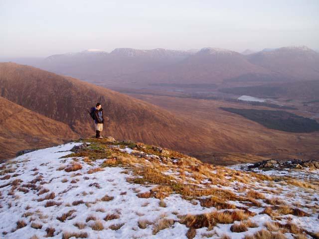 South ridge of Stob Ghabhar