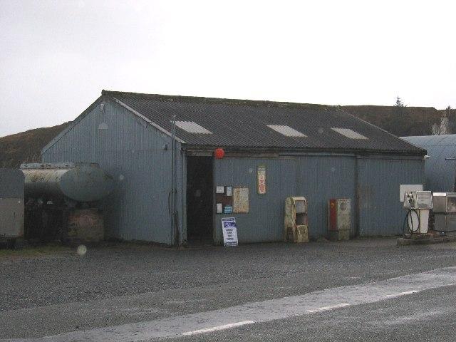 Struan Petrol Station