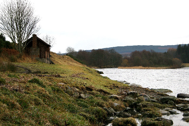 Fishing Bothy on River Dee , Banchory
