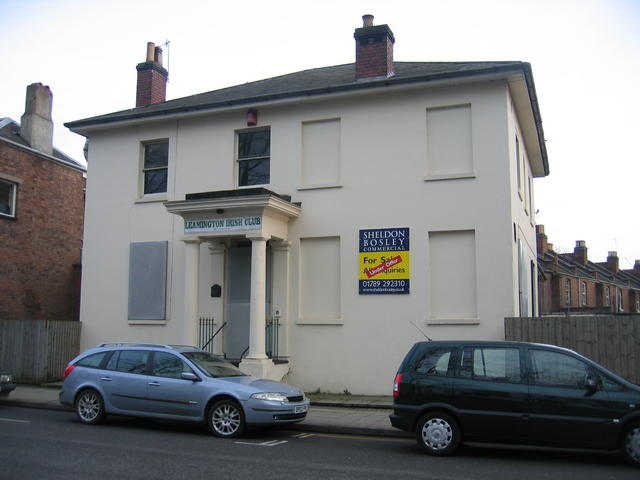 Site of the Leamington Spa Irish Club
