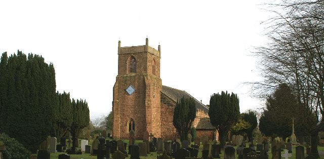 St. Mary's Parish Church, Eccleston