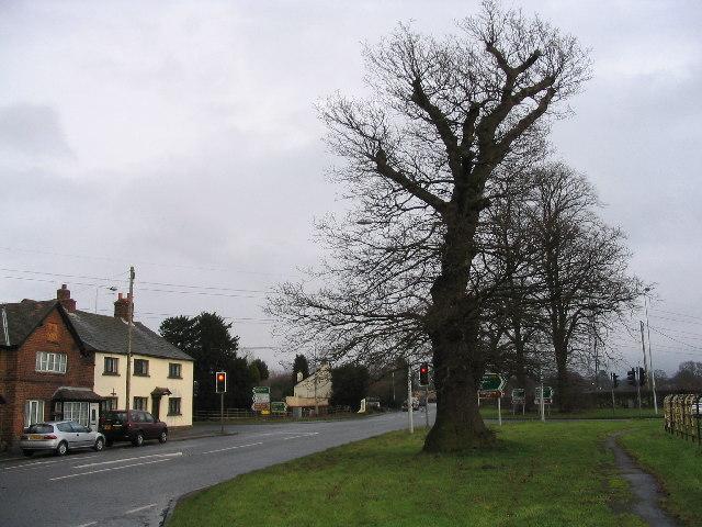 Monk's Heath crossroads
