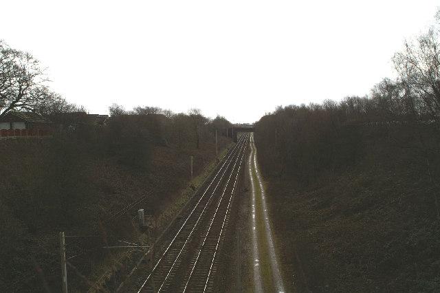 Accommodation bridge on the London-Glasgow Railway
