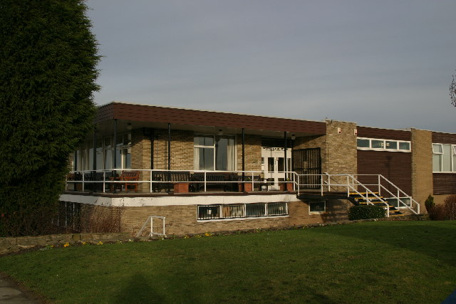 Whitley Bay Golf Course clubhouse