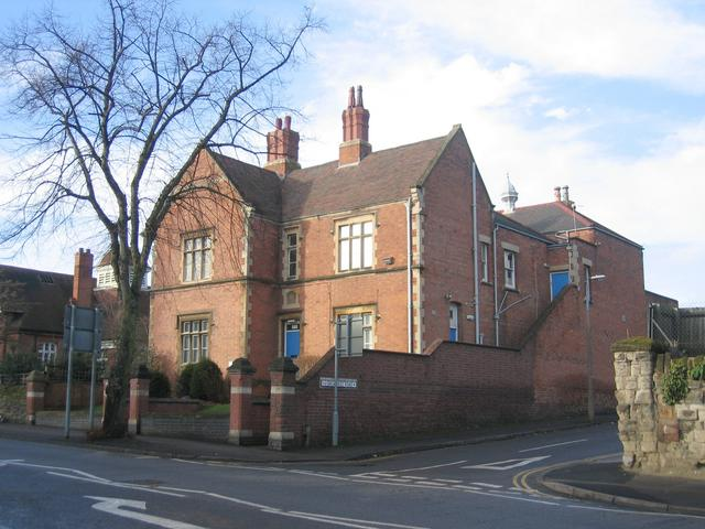 School buildings, Rugby Road