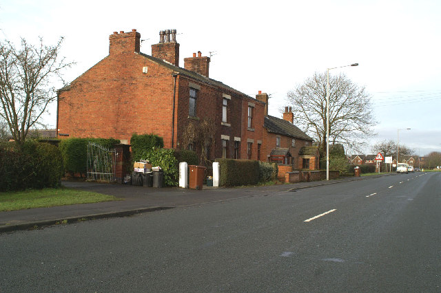 Cottages beside the B5253