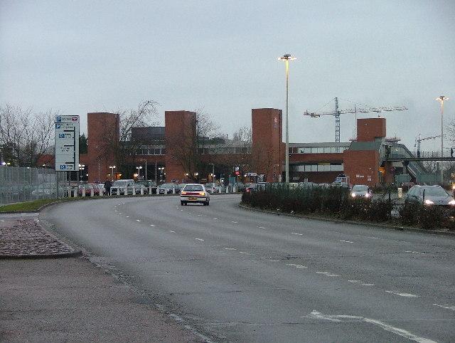 Stevenage Railway Station.