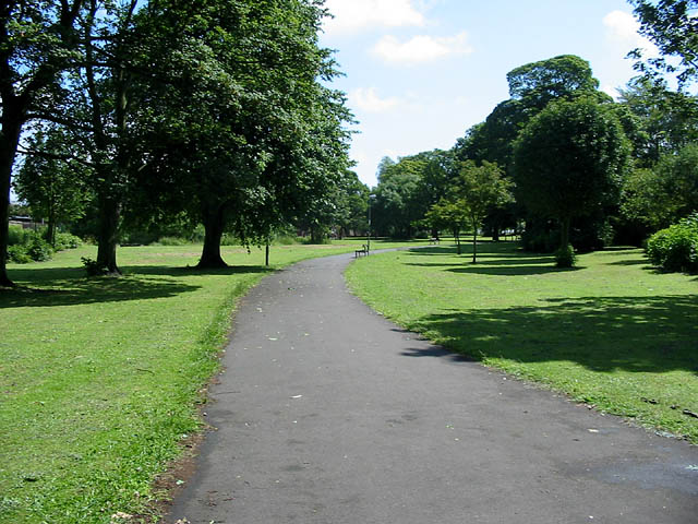 Small park. Killingworth