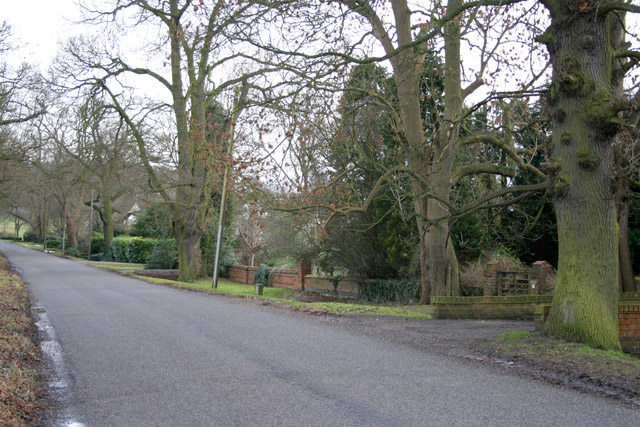 Stoughton Lane, near Leicester