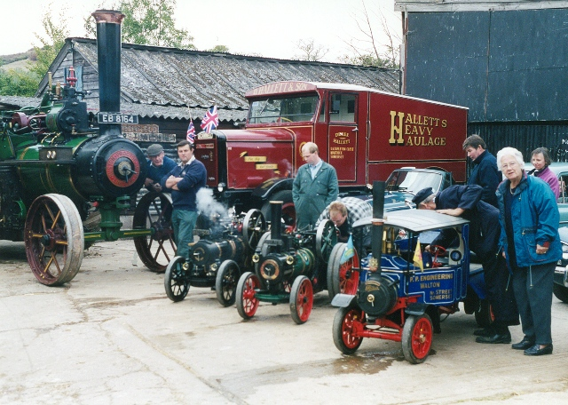 Open day at the thatcher's yard