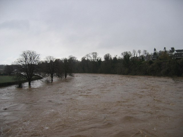 River Tweed in Flood