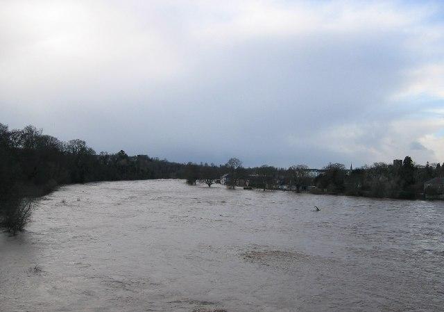 River Tweed in Flood