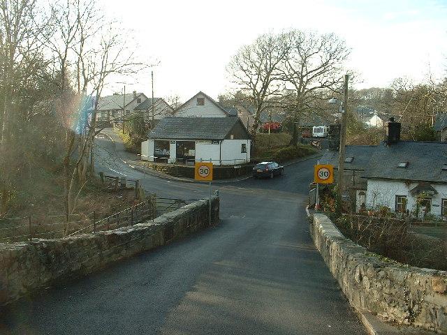 Gellilydan village