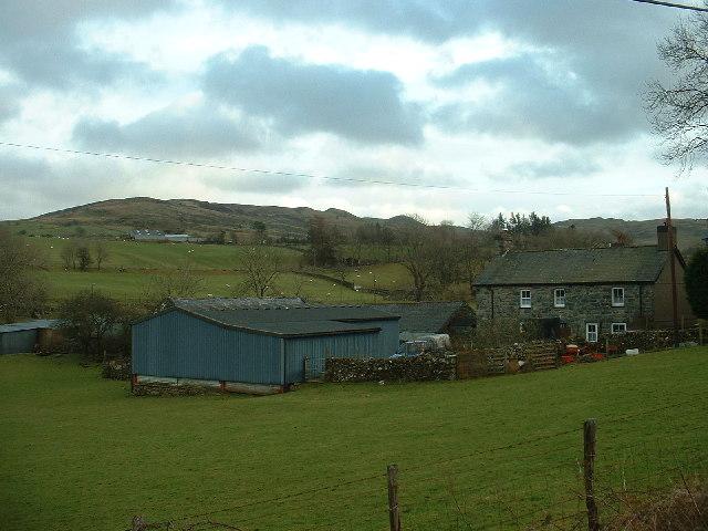Cefn-gallt-y-cwm Farm near Trawsfynydd