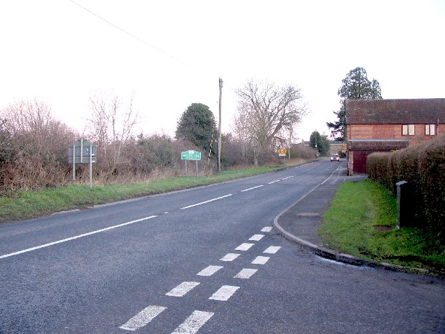 County boundary at  Chapmanslade