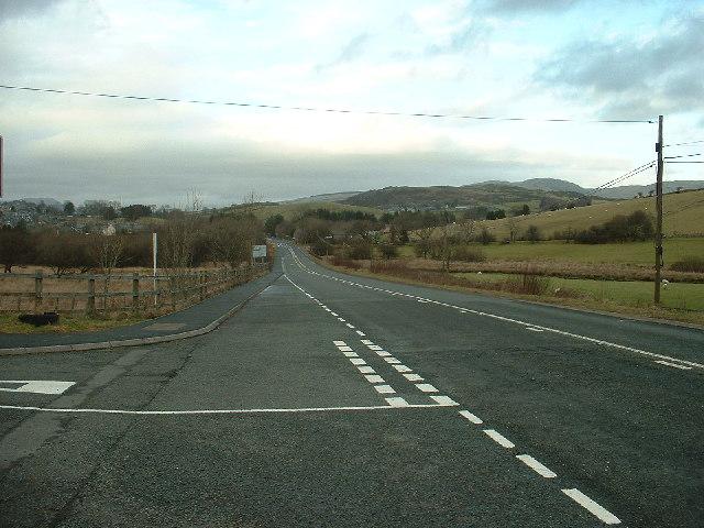 A470 near Trawsfynydd