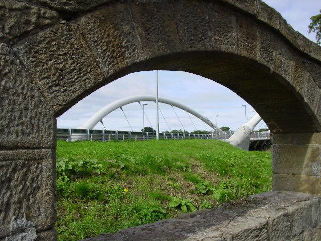 New bridge at Lesbury