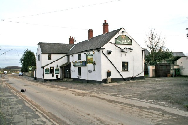 Burton Salmon Village. The Plough Inn