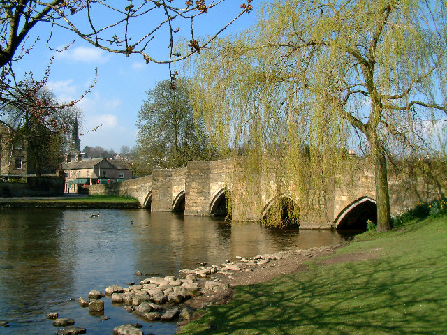 Bakewell Bridge.