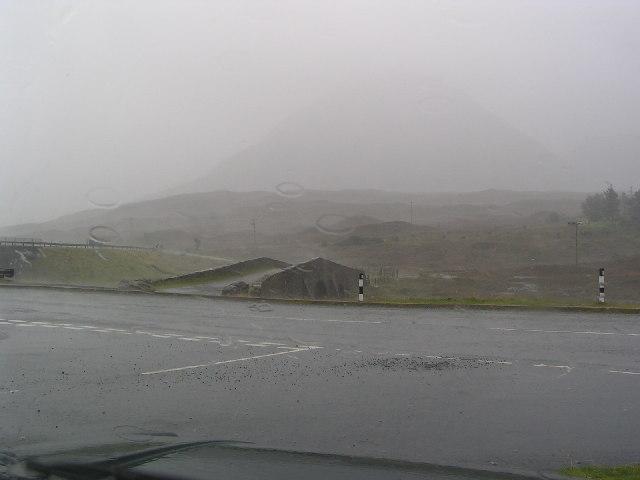 A rather damp Sligachan old bridge on Skye