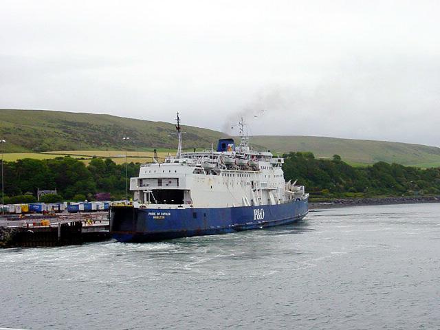 Cairnryan Ferry Port