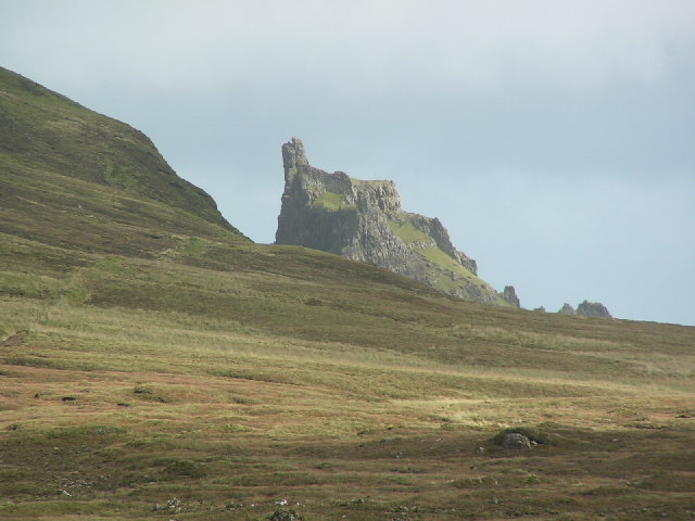 The Prison at The Quiraing, Skye