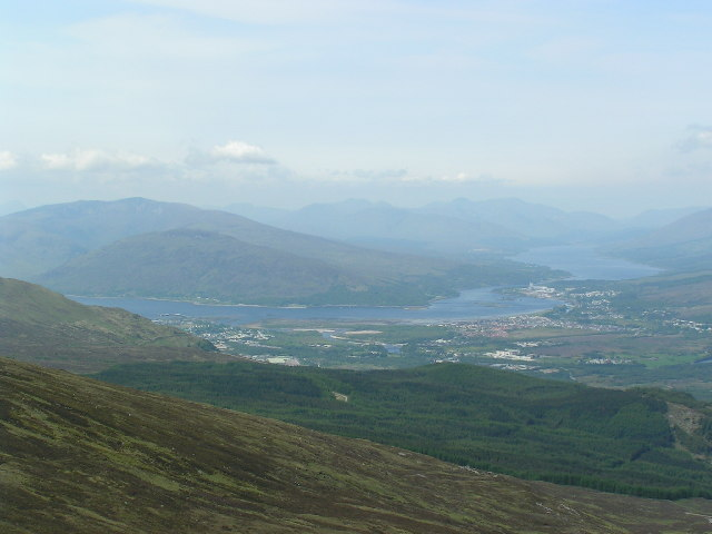 View from Anoch Mor