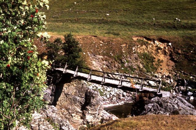 Bridge over The River Tilt.