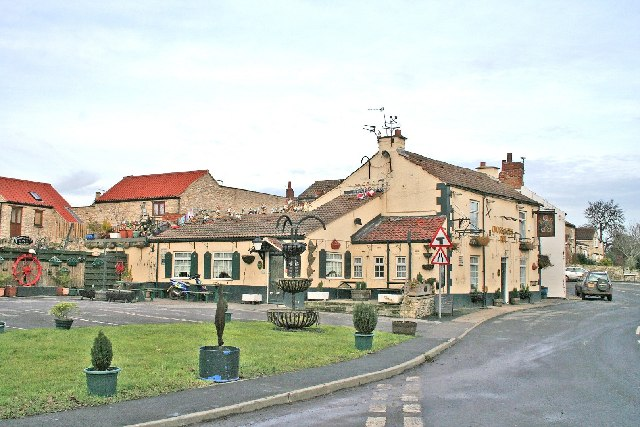 Hillam Village Cross Keys Public House