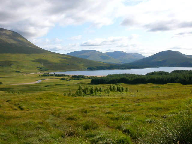 Loch Tulla from carpark/picnic area GR308449.