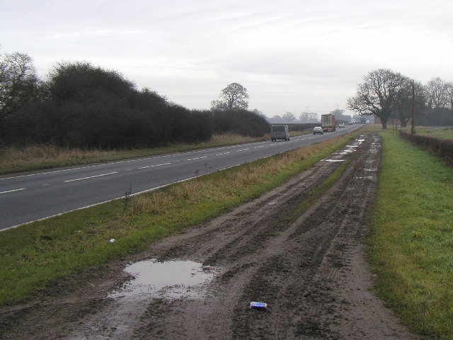 The A1079 looking towards Hull