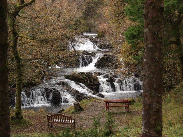 The Avich Falls